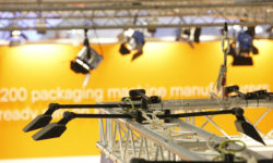 Photo: Lighting trade fair stand