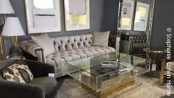 photo: furniture in the store; copyright: Stephanie Cohen Home